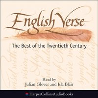 English Verse: The Best of the Twentieth Century - Edward Leeson - audiobook