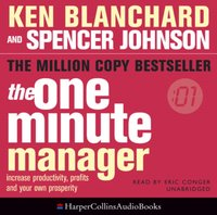 One Minute Manager - Ken Blanchard - audiobook