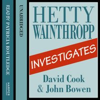 Hetty Wainthropp Investigates - David Cook - audiobook