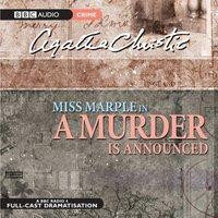 Murder Is Announced - Agatha Christie - audiobook