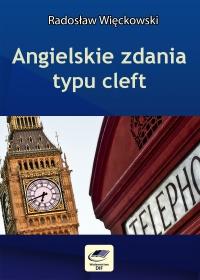 Angielskie zdania typu cleft - Radosław Więckowski - ebook