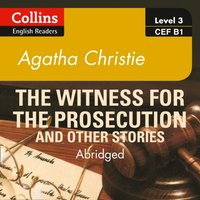 Witness for the Prosecution and other stories: B1 - Agatha Christie - audiobook