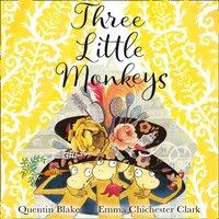 Three Little Monkeys - Quentin Blake - audiobook