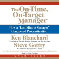 On-Time, On-Target Manager - Ken Blanchard - audiobook