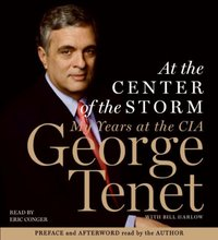 At the Center of the Storm - George Tenet - audiobook