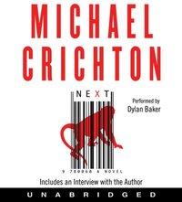 Next - Michael Crichton - audiobook