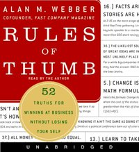 Rules of Thumb - Alan M. Webber - audiobook