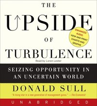 Upside of Turbulence - Donald Sull - audiobook