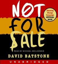 Not For Sale - David Batstone - audiobook