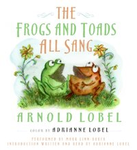 Frogs and Toads All Sang - Arnold Lobel - audiobook