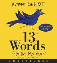 13 Words - Lemony Snicket - audiobook