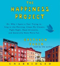 Happiness Project - Gretchen Rubin - audiobook