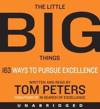 Little Big Things - Thomas J. Peters - audiobook