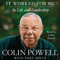 It Worked For Me - Colin Powell - audiobook