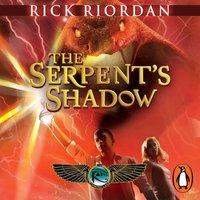 Serpent's Shadow (The Kane Chronicles Book 3) - Rick Riordan - audiobook