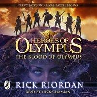 Blood of Olympus (Heroes of Olympus Book 5) - Rick Riordan - audiobook