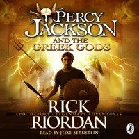 Percy Jackson and the Greek Gods - Rick Riordan - audiobook