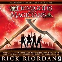 Demigods and Magicians - Rick Riordan - audiobook