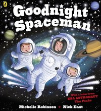 Goodnight Spaceman - Michelle Robinson - audiobook