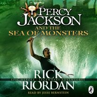 Percy Jackson and the Sea of Monsters (Book 2) - Rick Riordan - audiobook