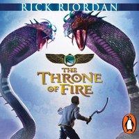 Throne of Fire (The Kane Chronicles Book 2) - Rick Riordan - audiobook