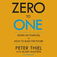 Zero to One - Blake Masters - audiobook