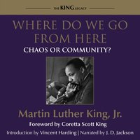 Where Do We Go From Here - Jr. Dr. Martin Luther King - audiobook