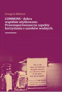 COMMONS - dobra wspólnie użytkowane. Prawnoporównawcze aspekty korzystana z zasobów wodnych - Grzegorz Blicharz - ebook