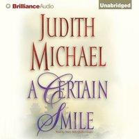 Certain Smile - Judith Michael - audiobook