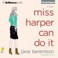 Miss Harper Can Do It - Jane Berentson - audiobook