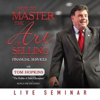 How to Master the Art of Selling Financial Services - Tom Hopkins - audiobook
