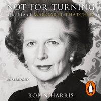 Not for Turning - Robin Harris - audiobook