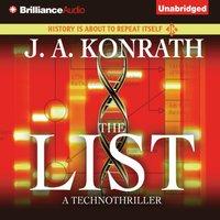 List - J. A. Konrath - audiobook