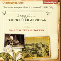 Page From A Tennessee Journal - Francine Thomas Howard - audiobook