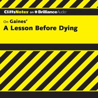 Lesson Before Dying - Durthy A. Washington - audiobook