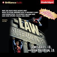 Law of Superheroes - J.D. James Daily - audiobook