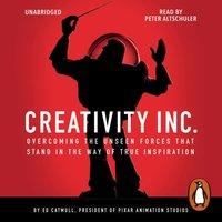 Creativity, Inc. - Ed Catmull - audiobook