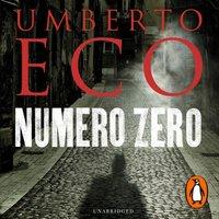Numero Zero - Umberto Eco - audiobook