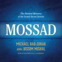 Mossad - Michael Bar-Zohar - audiobook