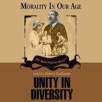 Unity in Diversity - Dr. Rosemarie Tong - audiobook