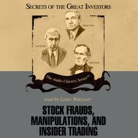 Stock Frauds, Manipulations, and Insider Trading - Thomas D. Saler - audiobook
