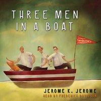 Three Men in a Boat - Jerome K. Jerome - audiobook