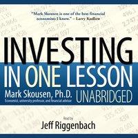 Investing in One Lesson - Mark Skousen - audiobook