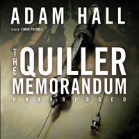 Quiller Memorandum - Adam Hall - audiobook