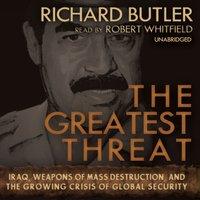 Greatest Threat - Richard Butler - audiobook