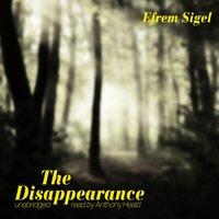 Disappearance - Efrem Sigel - audiobook