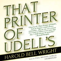 That Printer of Udell's - Harold Bell Wright - audiobook