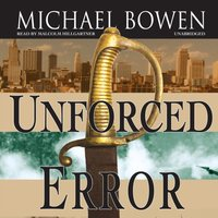 Unforced Error - Michael Bowen - audiobook