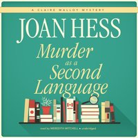 Murder as a Second Language - Joan Hess - audiobook