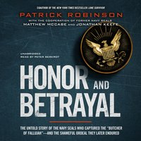 Honor and Betrayal - Patrick Robinson - audiobook